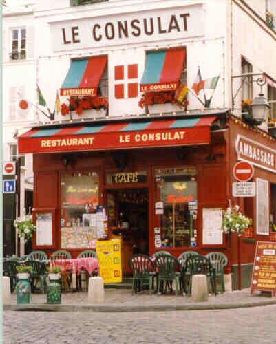 Previous return to thumbnail page next for Le miroir restaurant montmartre